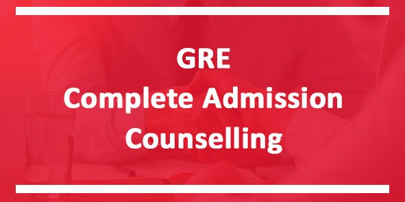 GRE complete Admission Counselling course