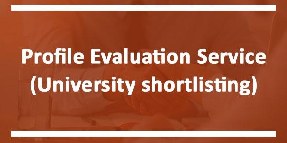 Profile Evaluation Service (University Shortlisting)
