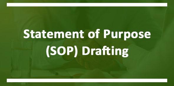 Statement of Purpose (SOP) Drafting