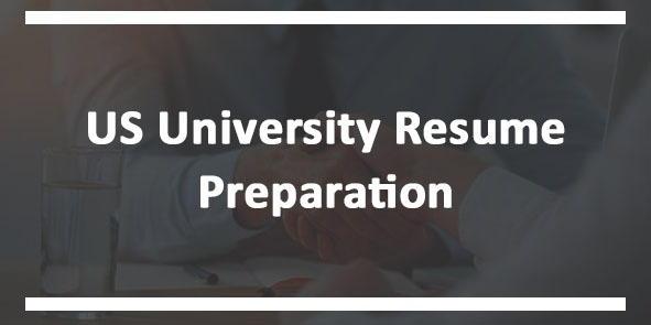 US University Resume Preparation