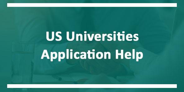 US Universities Application Help