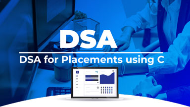 DSA for Placements using C Programming
