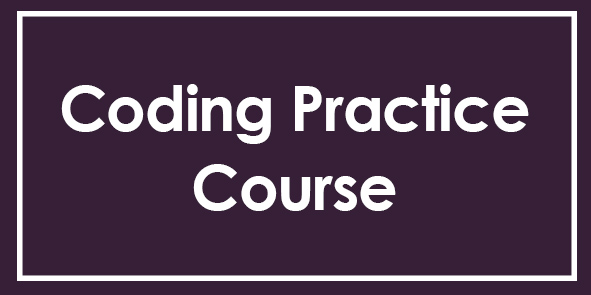 Coding Practice Course