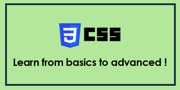 CSS - Complete Learning Course