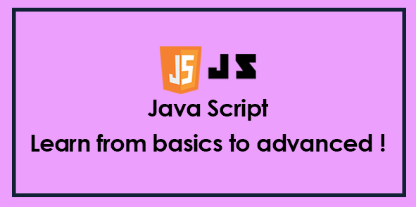 JAVASCRIPT - Complete Learning Course