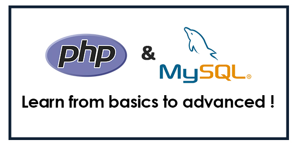 PHP & MYSQL - Complete Learning Course