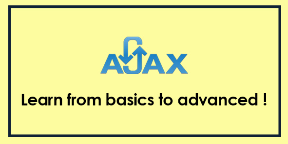 AJAX - Complete Learning Course