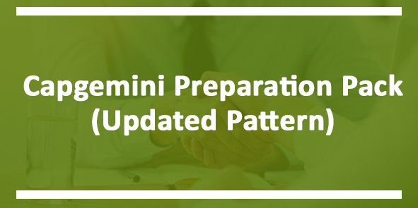 Capgemini Specific Preparation Pack for RCPIT Students Only
