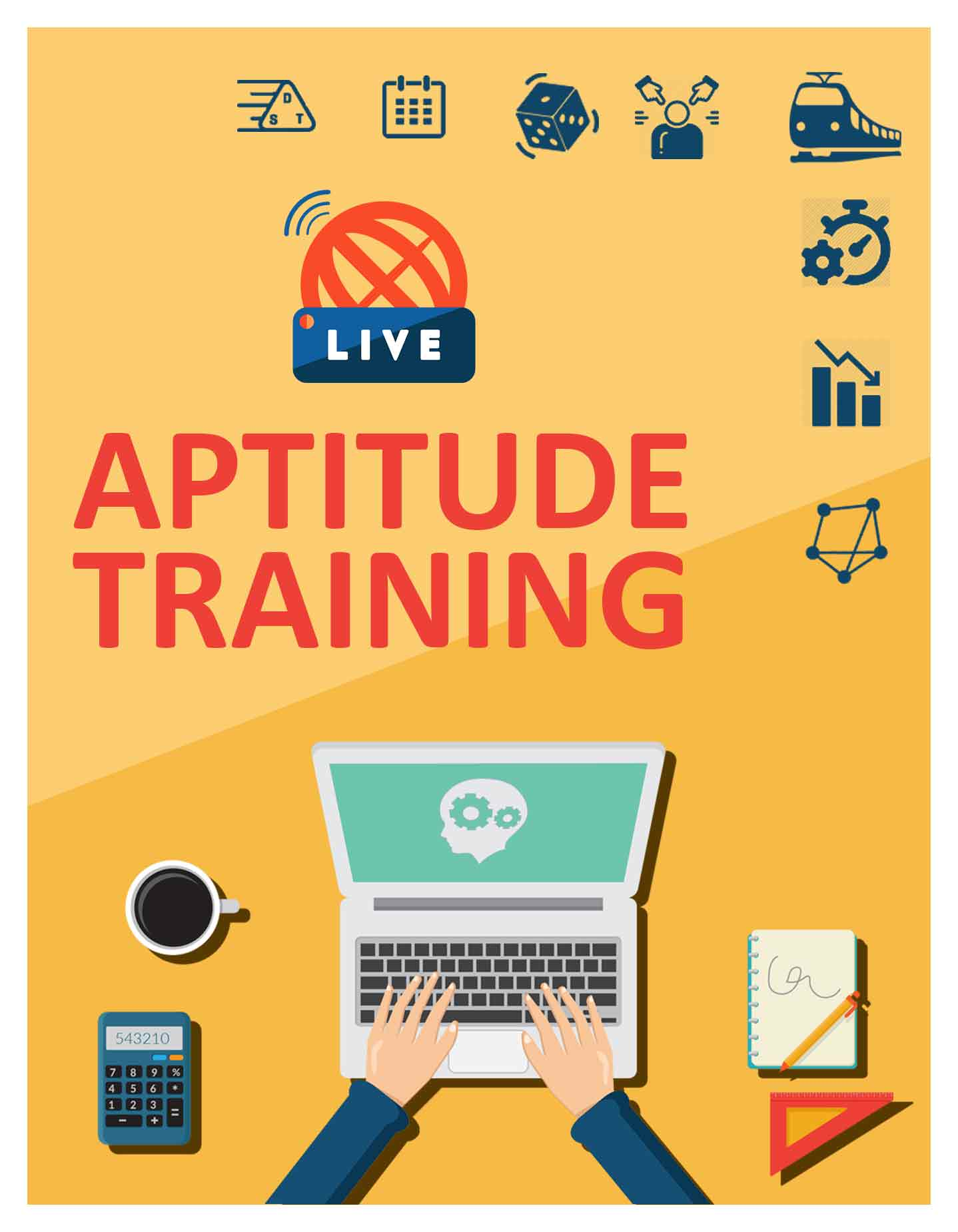 Complete Aptitude Course from basics (Quantitative - Logical Reasoning - Verbal Ability)