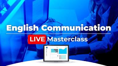 Live English Communication Masterclass!