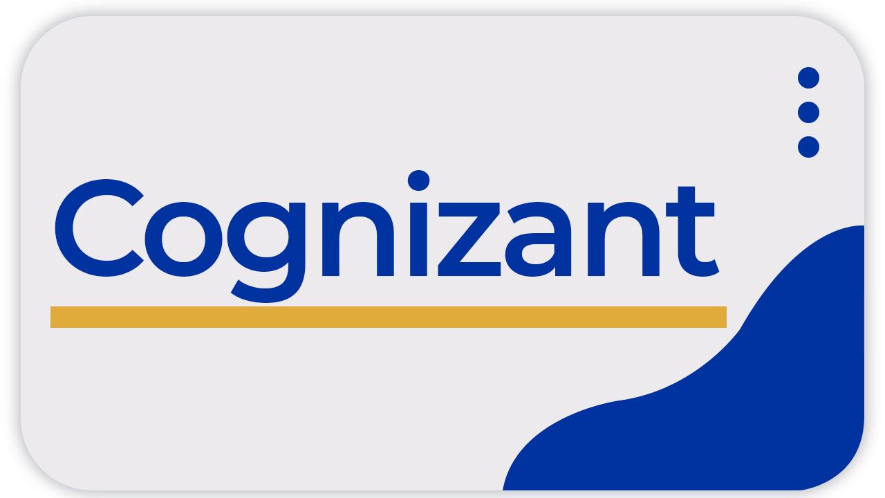 Cognizant Test Series (5 Tests)